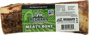 RedBarn USA Meaty Dog Bones Bulk Beef Treats Dental Shin Femur Marrow Bone LARGE