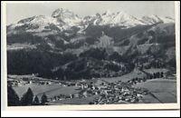 Bayrischzell Bayern Postkarte ~1920/30 Panorama mit Wendelstein ungelaufen