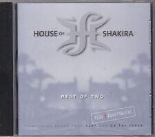 HOUSE OF SHAKIRA - best of 2 CD