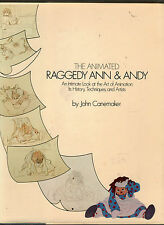 THE ANIMATED RAGGEDY ANN & ANDY - John Canemaker (hc/dj) 1st Printing