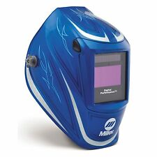 Miller 256160 64 Custom Digital Performance Series Auto Darkening Welding Helmet