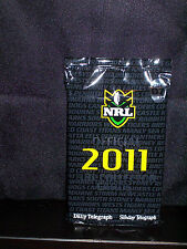 NRL OFFICIAL 2011 COLLECTOR TRADING CARDS - PACK 7 - NEW AND SEALED