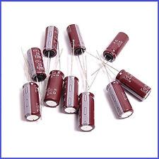 (10pcs) 1200uf 25v NCC Radial Electrolytic Capacitors 10x24mm KZH
