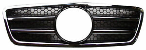 Mercedes Benz Front Grille W210 1999-2002 Facelift AMG Style Chrome&Black E320