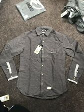 Anerkjendt Alphabet Brown Bracken Shirt Size Large Wool Style Warm Authentic