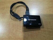 Transcend multi media USB reader