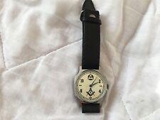 USSR Soviet Masonic Pobeda 15 Jewel Watch