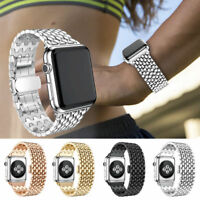 For Apple Watch iWatch 4 3 2 Stainless Steel Link Band Strap Bracelet 38/40/42mm