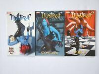 Mystique TPB Vol 2 3 4 1st Printings Marvel 2004 Unnatural Quiet Tinker Tailor