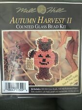 Mill Hill Beaded Cross Stitch Kits Autumn Harvest II MHAH9 Trick Or Treat Teddy