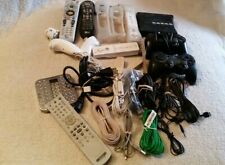 lots of remote control,computer & phone wires/connectors etc. (large misc.)