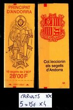 ANDORRE : CARNET n°5, Neufs ** = Cote 15 € / Lot Timbres +/- DOM TOM