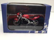 ATLAS EDITIONS 1:24 TRIUMPH 955 SPEED TRIPLE RED TOY MODEL MOTORBIKE BNIB