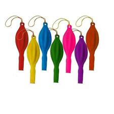 5 pcs Large Punch Balloons with Elastic Multi Coloured balloons party supply