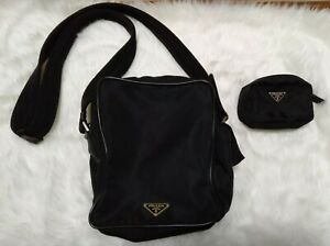 Prada Sling Bag And Coin Purse