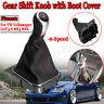 6 Speed Gear Knob Stick Shift Shifter Gaiter Gaitor Boot For VW Golf MK5 MK6