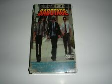 Beastie Boys-Sealed VHS Tape-Sabotage