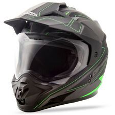 GMAX GM-11 Dual-Sport Adventure Offroad Motorcycle Helmet DOT
