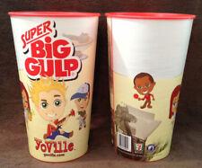 FACEBOOK YOVILLE ZYNGA - 7/11 SUPER BIG GULP 2010 Promotional Heavy Plastic Cup