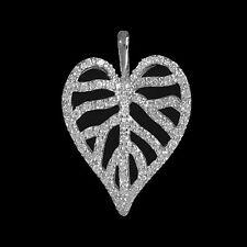 Normale Behandelte Runde Echtschmuck-Halsketten & -Anhänger aus Sterlingsilber für Damen