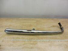 1972 Yamaha R5 350 R5C Y688; left side exhaust pipe muffler