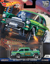 Hot Wheels Chevy Bel Air Gasser 1955 Dragstrip Demons FPY86-956F S*4 1/64