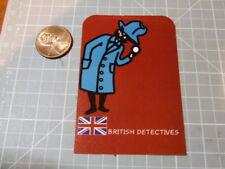 BRITISH DETECTIVES GLOSSY  Sticker/ Decal Bumper Stickers Skateboard NEW