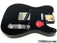 Loaded Fender Classic Baja 50s Telecaster Tele Body Twisted Sender Schwarz