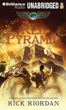The Red Pyramid by Riordan, Rick CD-AUDIO