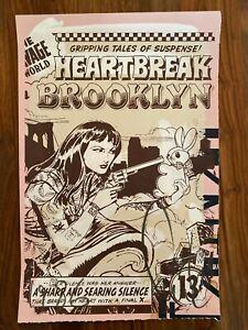FAILE - HEARTBREAK IN BROOKLYN 2012 - Mint Fine Art Print Signed & Numbered