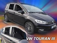 DVW31005 VW TOURAN mk3 2015-up WIND DEFLECTORS 4pc HEKO TINTED