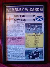 England 2 Scotland 3 - 1967 - framed print
