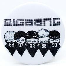 Fashion Kpop BIGBANG Badge Brooch Chest Pin Souvenir Gift - (58mm)