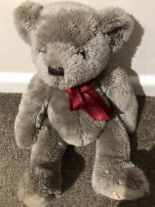 15 Inch Hamleys Grey Soft Cuddley Teddy Bear