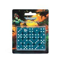 Warhammer 40k Drukhari Dice Set 20 Dice!  NEW