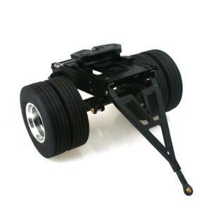 LESU Metal Trailer Axle 25.5*18.2*14CM for DIY 1/14 RC TAMIYA Tractor Truck Car