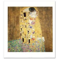 MUSEUM ART PRINT The Kiss Gustav Klimt 11x37 NYGS