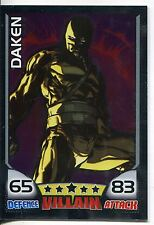 Marvel Hero Attax Series 1 Foil Base Card #31 Daken