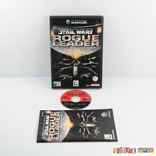 Star Wars Rogue Leader - Boxed & Manual - VGC - Nintendo Gamecube GC Wii PAL