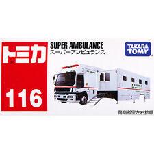 Takara Tomy Tomica #116 Isuzu Giga Super Ambulance Diecast Toy Car JAPAN