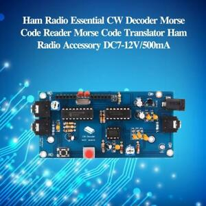 Ham Radio Essential CW Decoder Morse Code Reader Translator U S