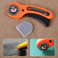 45mm Rotary Sewing Craft Tool Cutter+10 Cutting Blade for OLFA Fabric Quilting