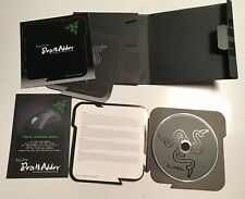 Razer Lachesis Laser Gaming Mouse DRIVER DISC SOFTWARE CD ONLY