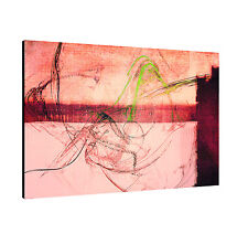 """47.2""""x31.5"""" Image Paul Sinus Series Enigma On Canvas Timeless Red Pink"""