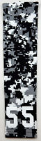 PICK YOUR NUMBER YOUTH MEDIUM Arm Sleeve CAMO BLACK GRAY WHITE Softball Baseball