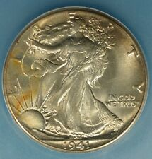 1941 Walking Liberty Half Dollar ICG MS65-  Exceptional Tone, Eye Appeal
