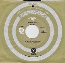 THE OUTSIDERS  Time Won't Let Me / Girl In Love 45