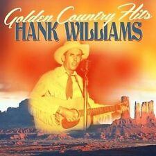Hank Williams - Golden Country Hits (2 CD) Neuf Étui Est Cracked