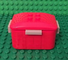 Lego New MOC Picnic Cooler / Ice Pack Container W/ Temperature Thermometer Gauge