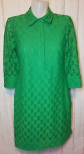 Vintage Lady's Lace Overlay Tunic/Dress Size 8